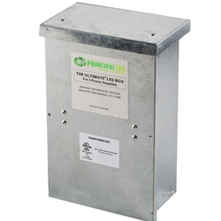 Qwik Box Single Outdoor UL enclosure (includes one 60W power supply) - Principal