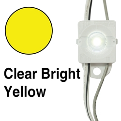 Principal LED Fusion Freedom Clear Bright Yellow Lens Cap