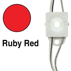 Principal LED Fusion Freedom Ruby Red Lens Cap