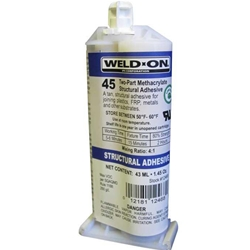Weldon #45 - 43 ml Cartridge - 12468