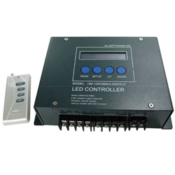 JS DMX Controller for RGB LED Modules 12V/8A/3 channel DMX512 compatible