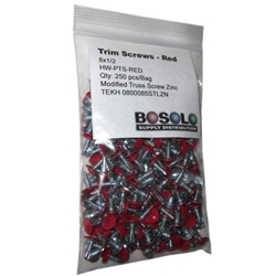 Red Zinc Modified Truss Screw
