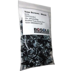 Black Zinc Modified Truss Screw