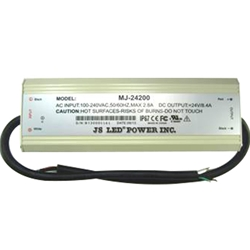 JS LED Power Supply 200W MJ-24200, Outdoor
