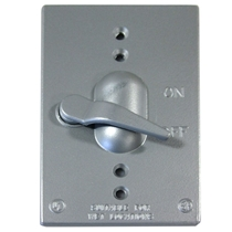 Toggle Switch Safety Locking Plate