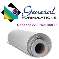 GF-229 WallMark Canvas 6.0 mil - Matte White Embossed Canvas Wall Vinyl