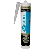 Flexsil 4301 - Clear RTV 100% Silicone Sealant - 10.3oz(300ml) cartridge