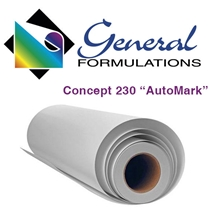 AutoMark 2.4 mil - Gloss White Conformable Wrap Vinyl - 7 yr
