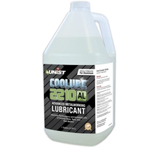 Coolube 2210 metal cutting lubricant for Aluminum. 100% natural, non-toxic.