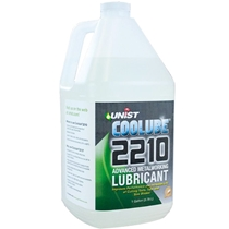 Coolube 2210 metal cutting lubricant for non-ferrous metals. 100% natural, non-toxic.