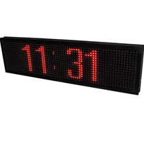 "JS LED MESSAGE BOARD 24""H x 90""L (630mm x 2290mm) 17.5 px"