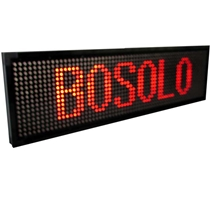 "JS LED MESSAGE BOARD 11""H x 44""L (280mm x 1120mm) 17.5 px"