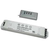 Dimmable Controller for RGB & Single Color LED Modules 12V/5A/2 channel with remote