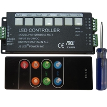 JS LED RGB CONTROLLER HM-12RGB6A3 with Remote Control