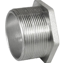 "1/2"" Die Cast Zinc Threaded Bushed Nipple"