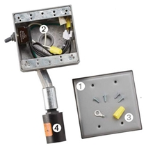 SignStrike Box - prewired enclosure, surge protector, switch for use with Powerline LED